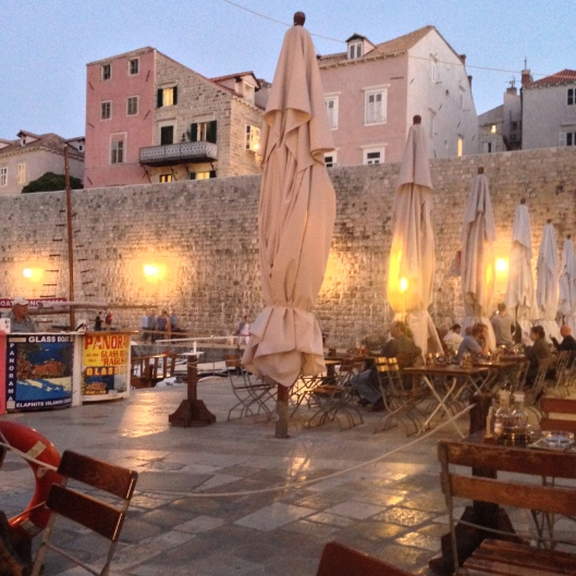 first evening in Dubrovnik - the City Of Stunning